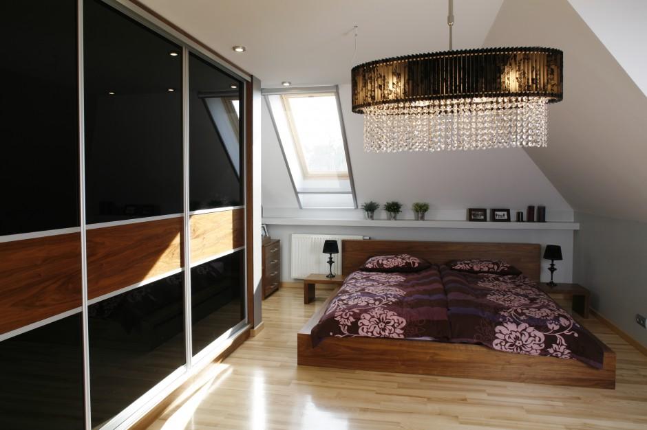 Do tej nowoczesnej sypialni...  Nowoczesna sypialnia. Zobacz piękne wnętrza z polskich domów ...
