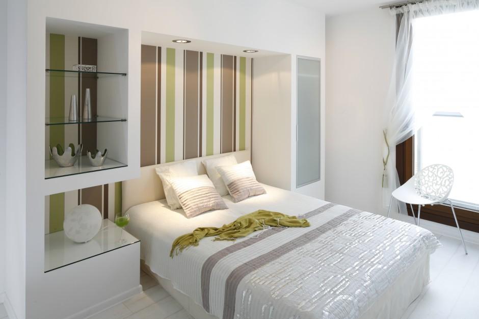 Nowoczesną, jasną...  Nowoczesna sypialnia. Zobacz piękne wnętrza z polskich domów  Strona: 2