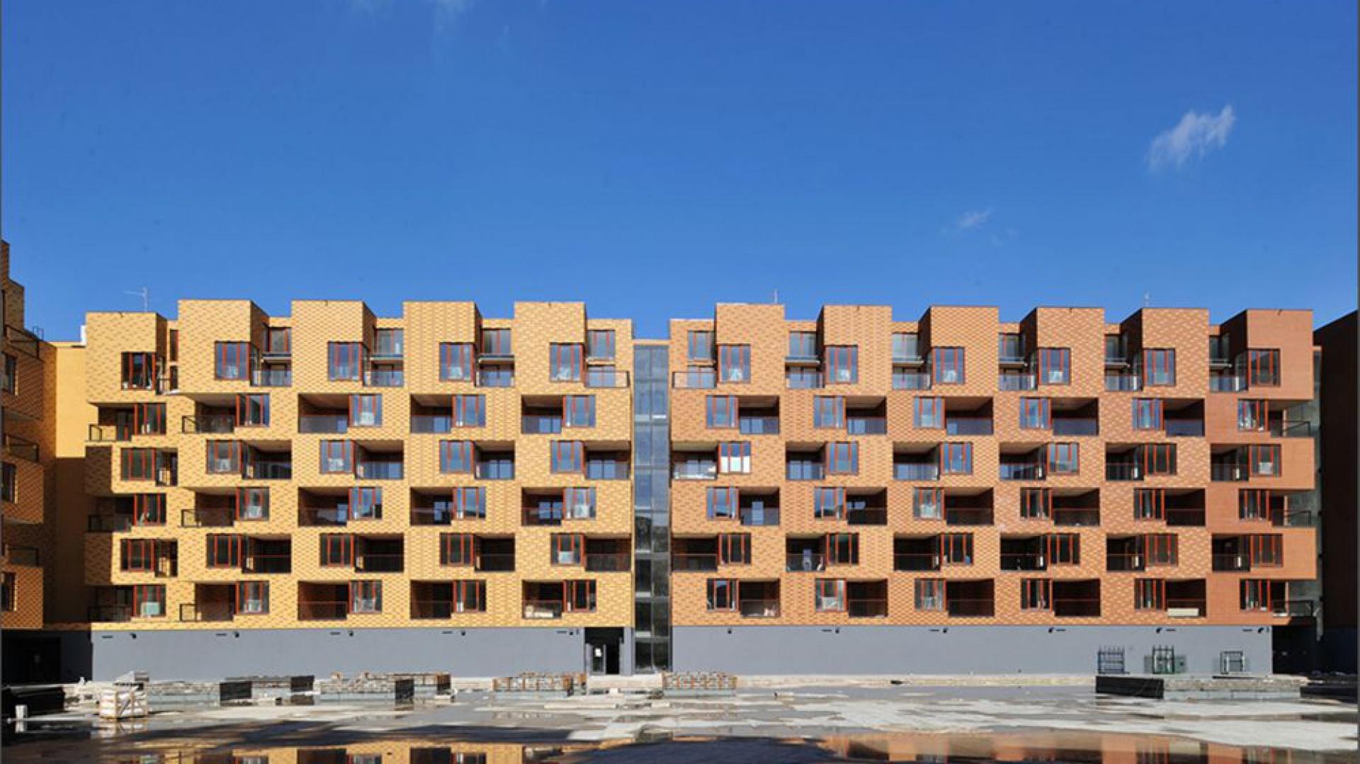 Budynek mieszkalny we Wrocławiu zaprojektowany przez Biuro Projektów Lewicki Łatak – obiekt nominowany w międzynarodowej edycji Brick Award. Fot. Wienerberger