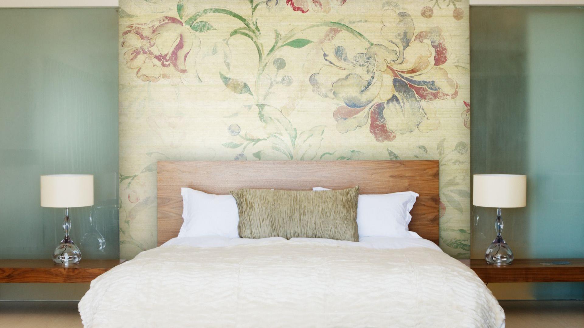 ściany W Sypialni Wykończ Je Tapetą Lub Fototapetą 15