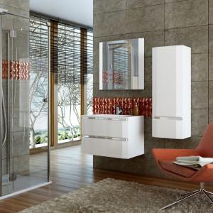 Nowoczesne meble Diamond firmy Oristo sprawdzą się w aranżacji w stylu loft.  Fot. Oristo.