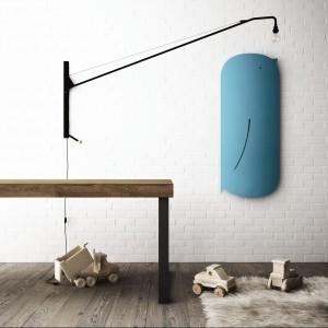 Pomysłowy, oryginalny model Bird marki Ridea, który przypomina sympatycznego ptaka sprawdzi się w łazience dla dziecka. Fot. Ridea.