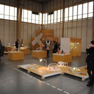 Wystawa Idea formy forma idei Katedry Designu Kierunku Wzornictwo UAP. Fot. Piotr Sawczuk.