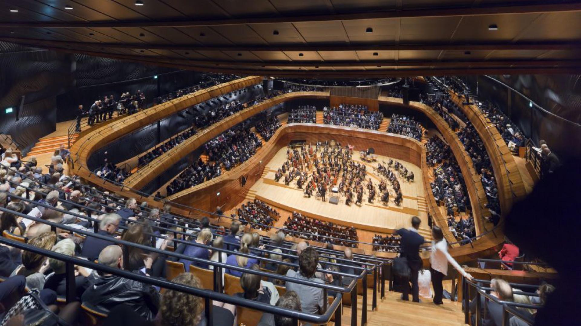 Nowa Siedziba Narodowej Orkiestry Symfonicznej Polskiego Radia (NOSPR) w Katowicach. Fot. Daniel Rumiancew