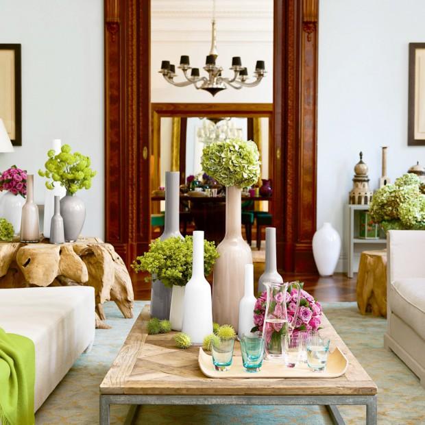 Dekoracje salonu. Dodatki, które odmienią wnętrze na wiosnę