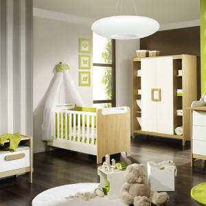 Kolekcja First marki Tomoore łączy w sobie piękny kolor jasnego drewna oraz modną, uniwersalna biel. Dobra propozycja do pokoju chłopca, jak i dziewczynki. Fot. Tomoore