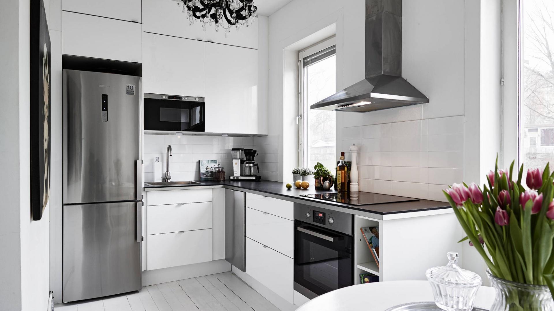 Czarno Biale Wnetrze Zobacz Piekne Mieszkanie