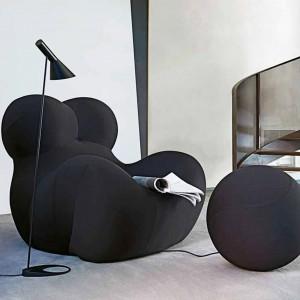 Siedzisko dla dzieci, jak i dorosłych jest w całości wykonane z elastycznej pianki poliuretanowej, pokrytej tapicerką z elastycznego materiału. Fot. Innes.