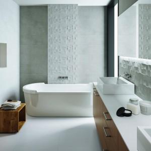 Kolekcja Zenith marki Aparici. Elegancka, surowa powierzchnia przypomina kamienną mozaikę. Fot. Aparici.