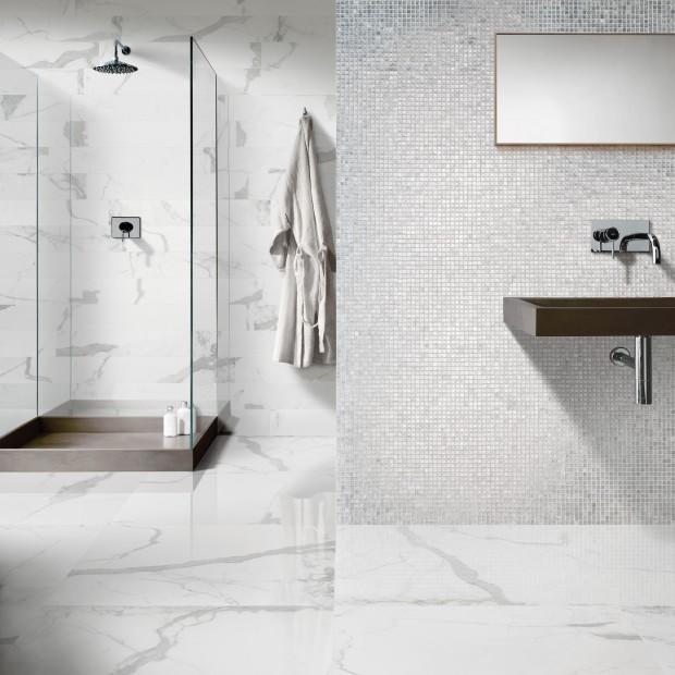 Białe płytki do łazienki – zobacz nowości z targów Cevisama 2015