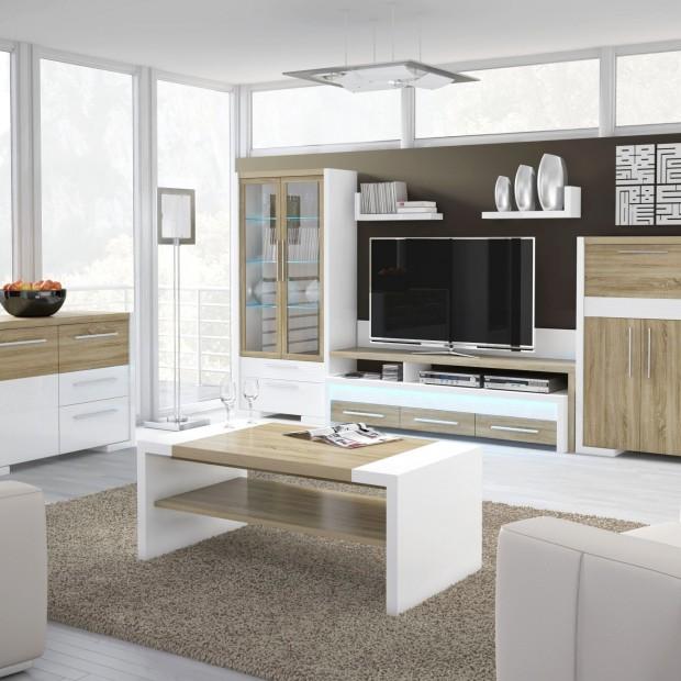 Barek w salonie - wybierz meble z opcją przechowywania