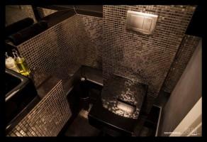 Czarna łazienka? Czemu nie!