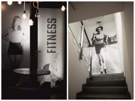 Identyfikacja wizualna klubu nawiązuje do stylistyki retro
