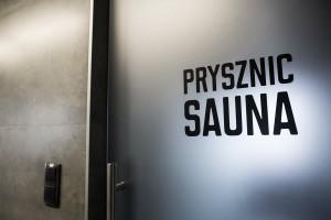 Po skończonym treningu klienci klubu mogą korzystać z sauny