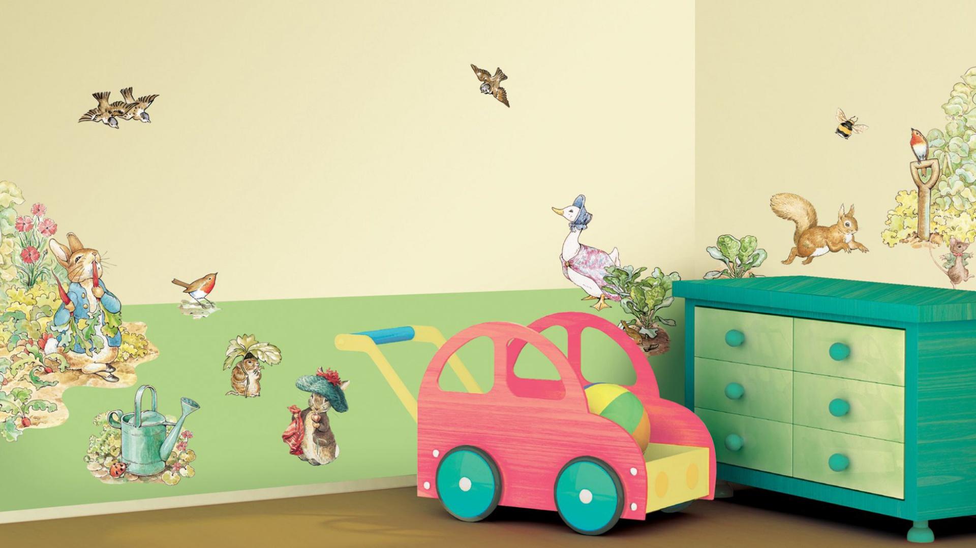 Naklejki ścienne W Pokoju Dziecka Szybki Sposób Na Dekorację ścian