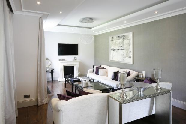 Piękne wnętrze w klasycznym stylu. Zobacz elegancki dom