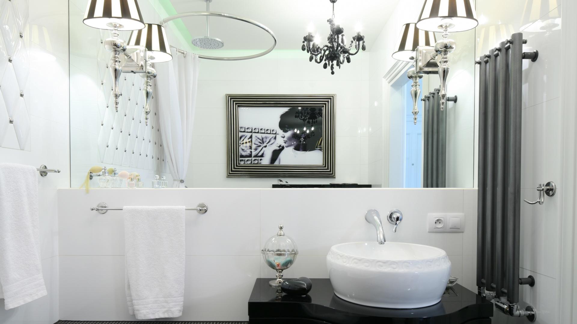 Czarno Biała łazienka Tak Modnie Ją Urządzisz