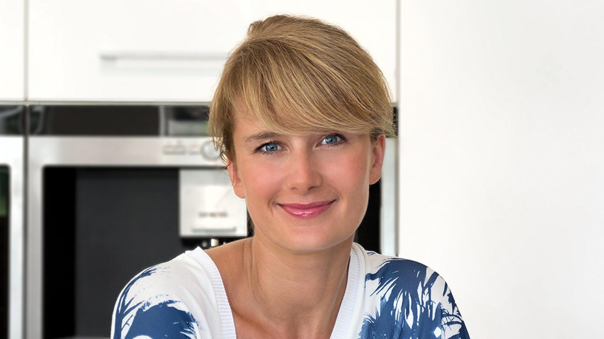 Małgorzata Błaszczak, projektantka Pracowni Mebli Vigo, ekspert sieci Max Kuchnie. Fot. Archiwum