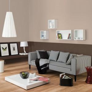 Farba w kolorze kakao i ciepłego brązu marki Dulux Kolory Świata wprowadzi do wnętrza przyjemny, apetyczny klimat. Fot. Dulux.