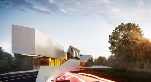 Przygotowania takiej koncepcji podjęli się architekci z warszawskiej pracowni 81.WAW.PL. Efektem prac jest projekt niezwykłej bryły – domu biurowego.