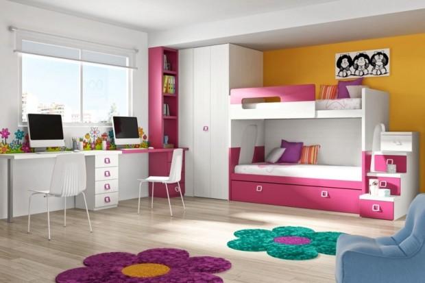 Mały pokój 2 dzieci. Galeria inspirujących zdjęć
