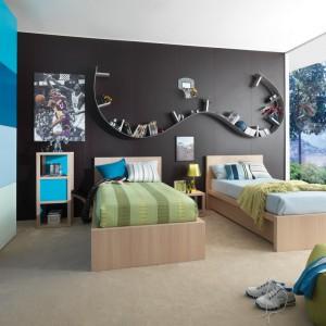 Odpowiednie meble, kolory ścian oraz styl dodatków pomogą pogodzić zainteresowania i temperamenty pociech i urządzić dla nich wygodny pokój. Fot. Dearkids.