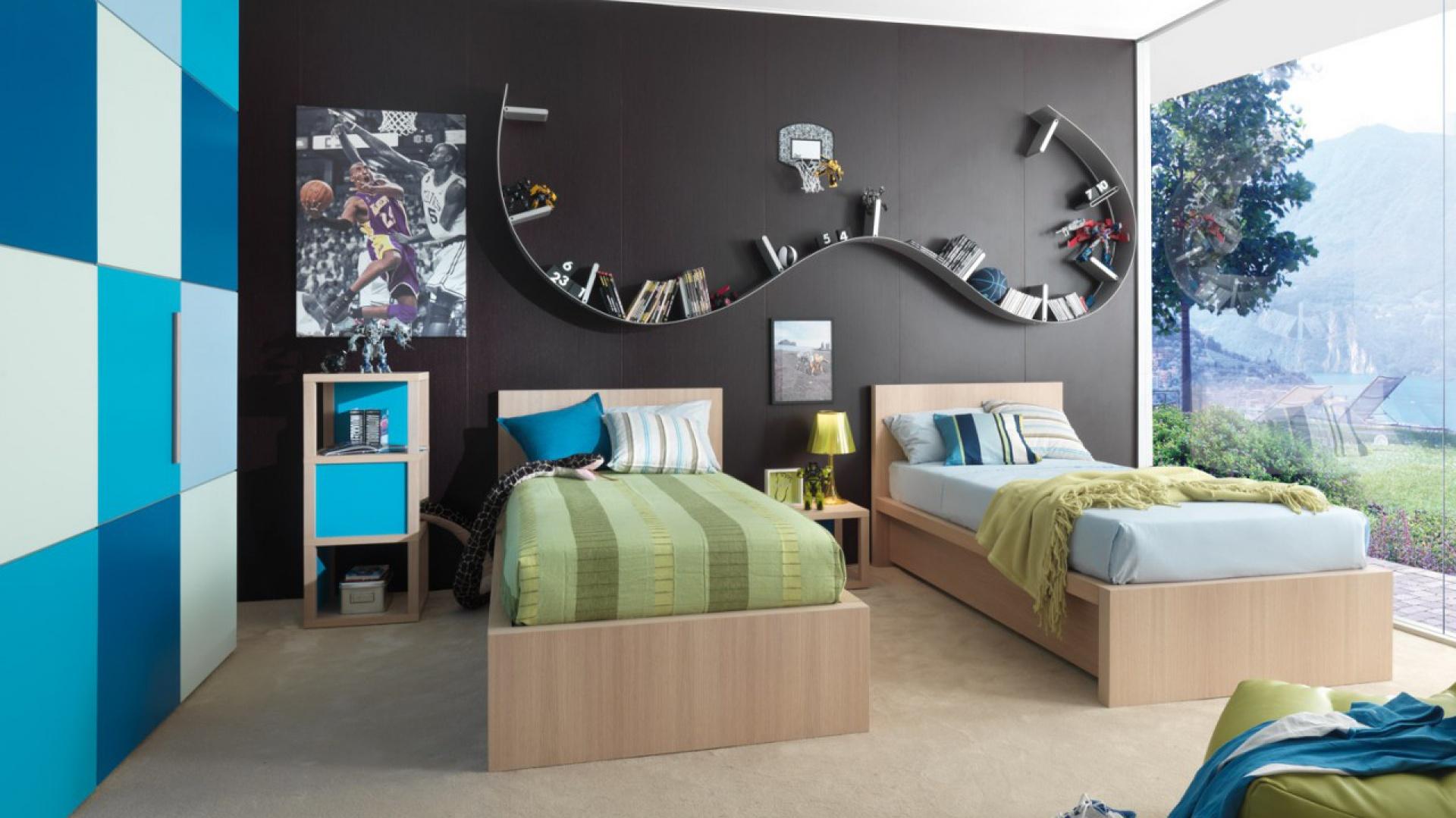 Odpowiednie meble, kolory...  Mały pokój 2 dzieci. Galeria inspirujących zdjęć  Strona: 6