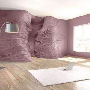 Używając jednego produktu z serii StoCalce Deco można tworzyć nieograniczone rodzaje powierzchni które sprawią, że wnętrze nabierze wyrazistego charakteru. Fot. Sto-ispo.