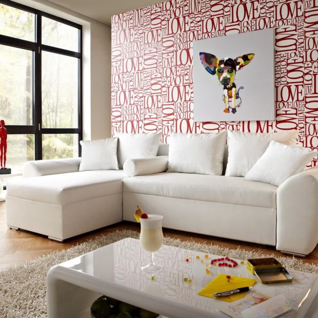 Ściana w salonie. Pomysły na ciekawe dekoracje