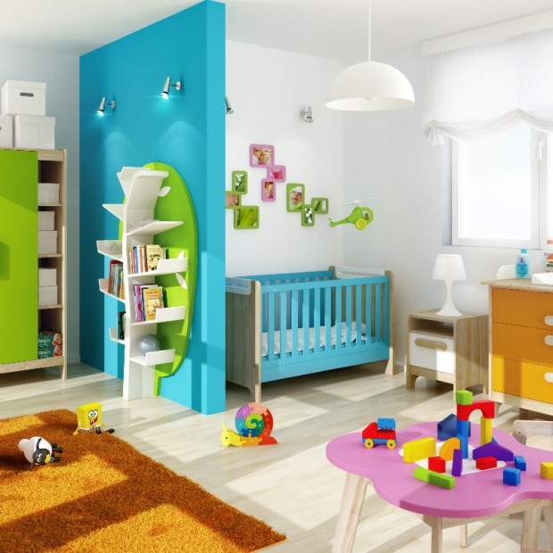 Meble z funkcją przechowywania: komody, szafy i półki do pokoju dziecka