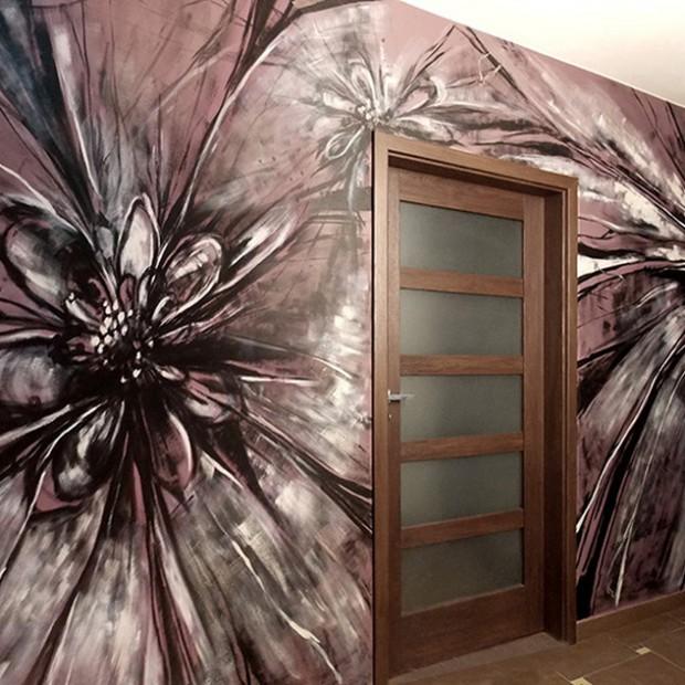 Inspiracje? Wybierz artystyczne malowanie ścian