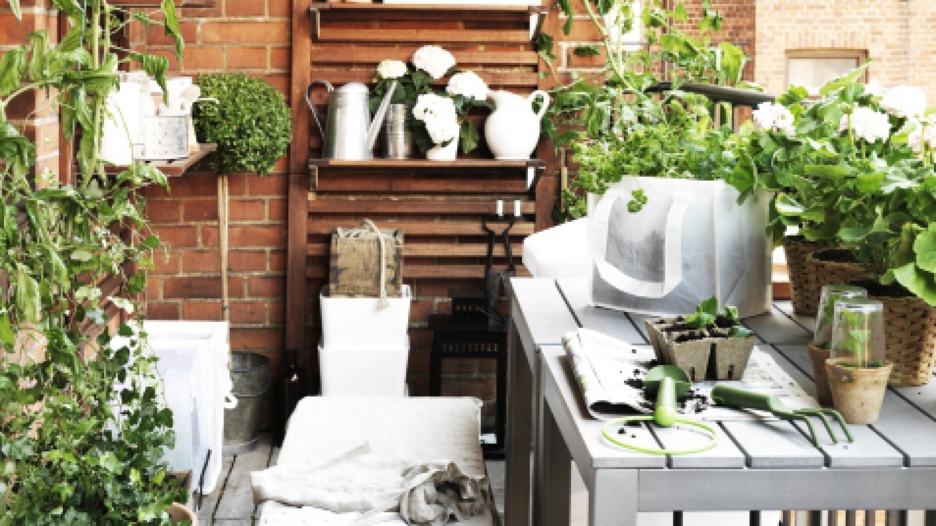 Seria mebli balkonowych Falster. Fot. IKEA
