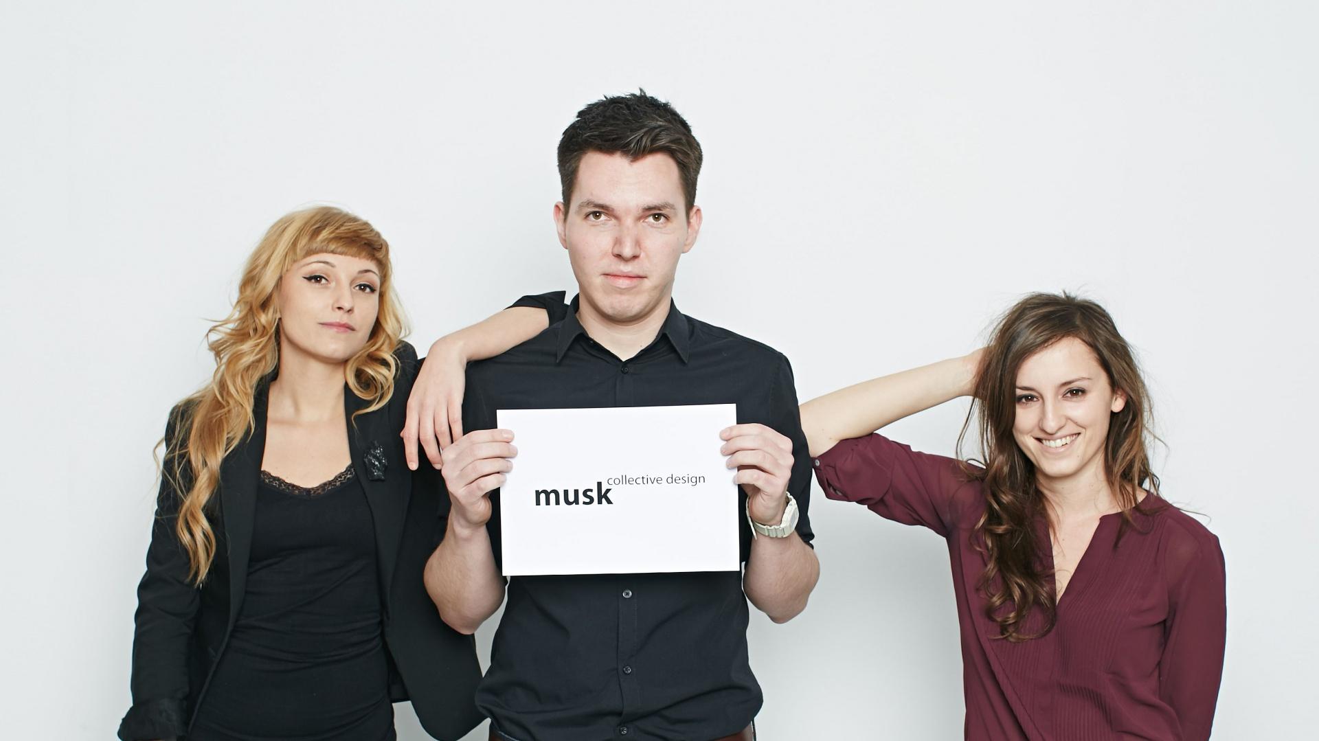 Zespół projektowy Musk Collective Design. Fot. Archiwum