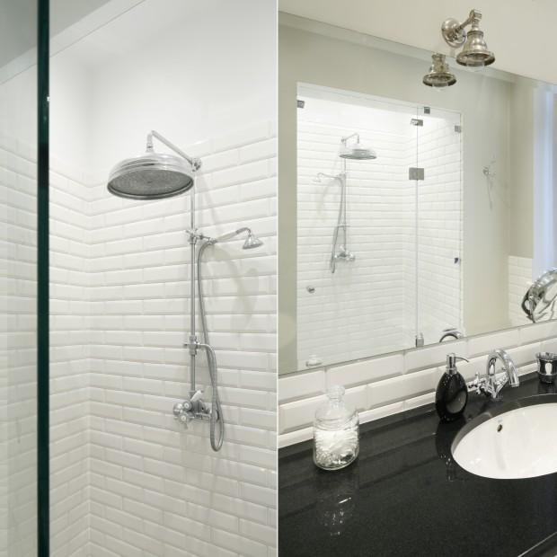 Mała łazienka: tak urządzisz prysznic we wnęce