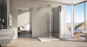 Kabiny typu walk-in to wygodne i efektowne rozwiązanie dla właścicieli łazienek o nieco większym metrażu, ale można znaleźć także modle do wnęk.