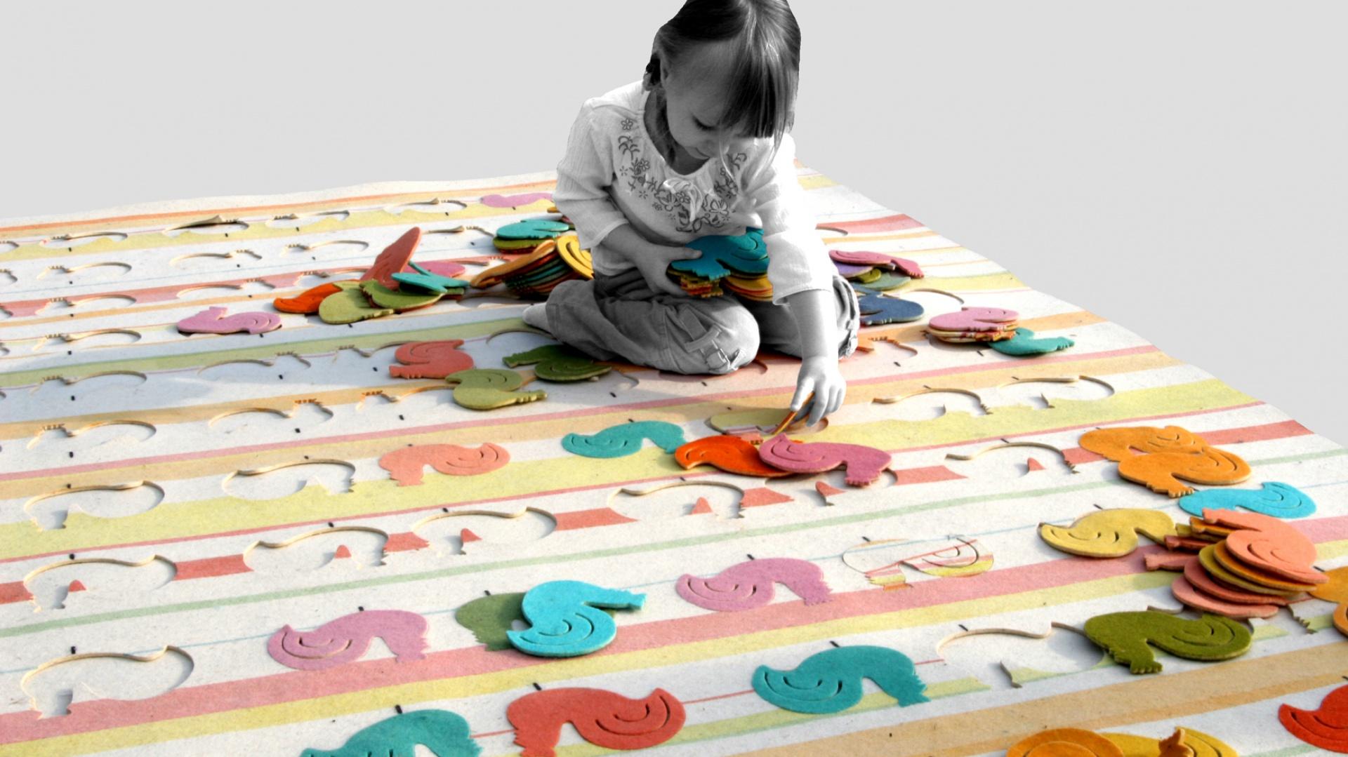 Dywan W Pokoju Dziecka 10 Kolorowych Modeli