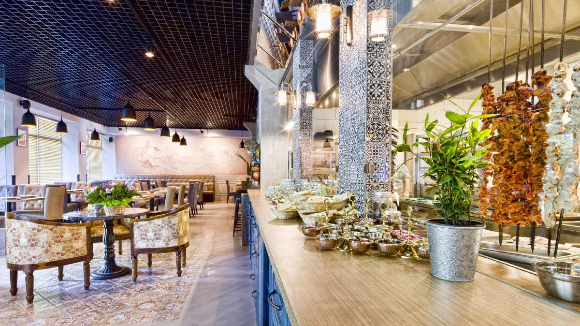 Restauracja indyjska Bombaj Masala w Warszawie. Fot. Maciej Zaczek/82studio