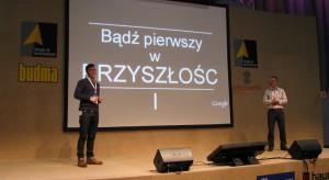 """Podczas Targów Budma odbył się wykład prowadzony przez Piotra Hurnika z firmy Google oraz Roberta Rydza-Mościckiego z Performance Media na temat: """"Jak zdobyć nowych klientów za pomocą narzędzi Google?"""""""