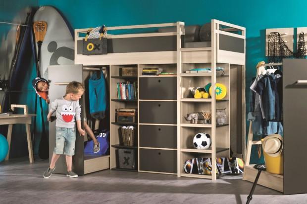 Łóżko dla dziecka: sprytny mebel do małego pokoju