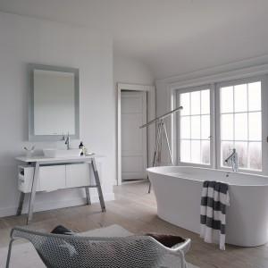 Cape Cod Duravit to kolekcja inspirowana naturą. Inspirację dla stylu i nazwy projektant Philippe Starck znalazł na przylądku Cap Code na wschodnim wybrzeżu USA. Fot. Duravit.