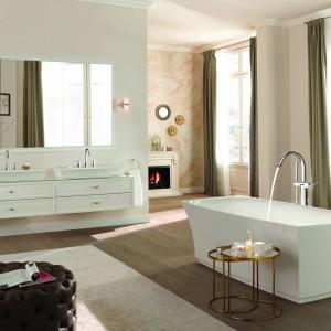 Kolekcja Grandera Grohe to seria wyposażenia łazienki eleganckiej i klasycznej. Fot. Grohe.