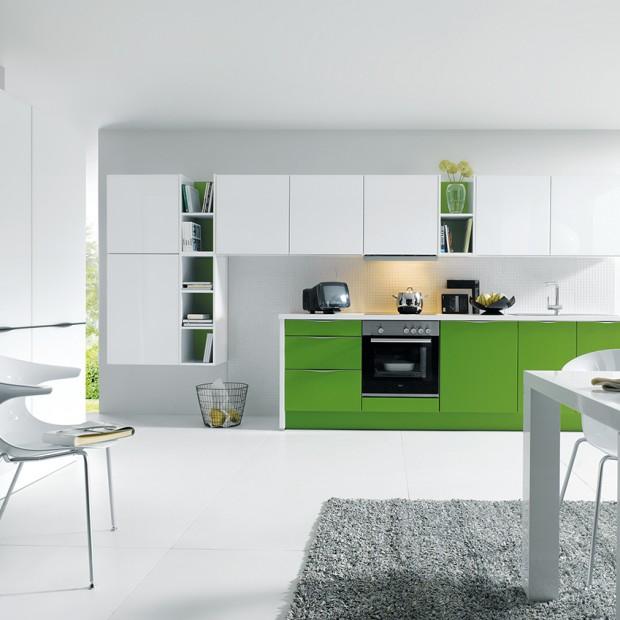 Kuchnia w żywych kolorach. 15 pomysłów na aranżację