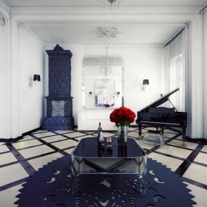 Za luksusowy apartament przy ulicy Mokotowskiej 8 w Warszawie nabywcy zapłacą ok. 6 milionów złotych. Fot. Triforium.