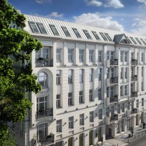 Ze względu na elegancką architekturę, Mokotowska 8 zyskała sobie przydomek warszawskiego Paryża i miano jednego z najbardziej prestiżowych adresów w stolicy. Fot. Triforium.