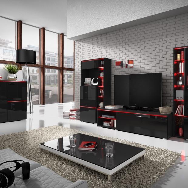 Czarny design – barwa modna we wnętrzach i detalach