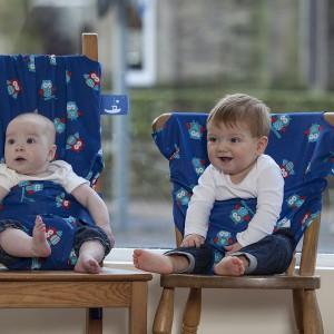 Praktyczny pokrowiec pozwala zachować czysty wygląd krzeseł w restauracji, ale pełni też znacznie ważniejszą rolę. Fot. Totseat.