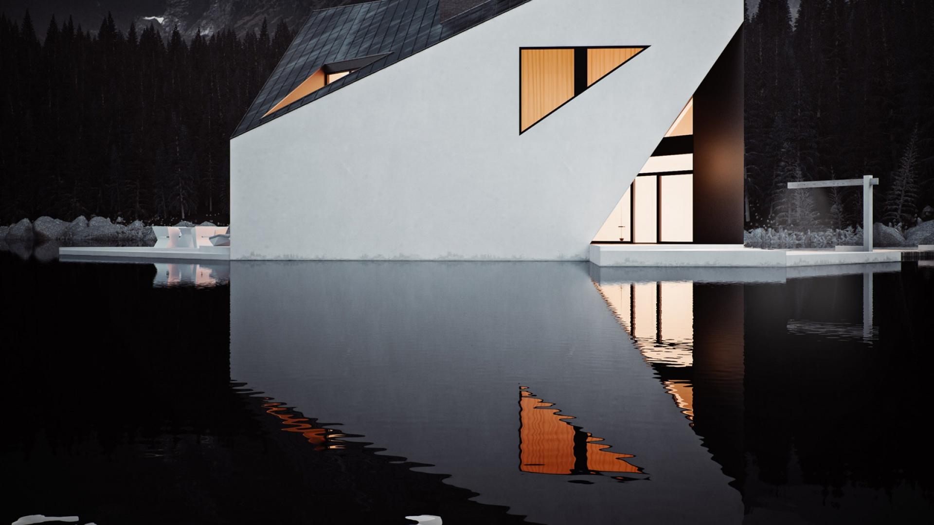 Dom Korona (projekt - pracownia 81.WAW.PL) znalazł się wśród nominowanych w międzynarodowym konkursie architektonicznym Architizer A+.  Fot. 81.WAW.PL