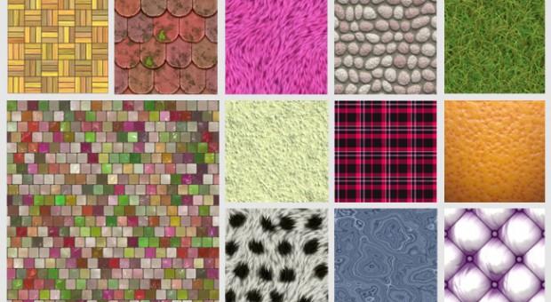 Baza kolekcji tekstur dla projektantów – 600 wzorów