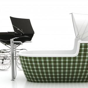 Ten projekt to... wanna wolno stojąca. Zainspirowana jest dziecięcymi wózkami w stylu retro. W założeniu zapewniać ma kojące uczucie komfortu i ukrycia przed światem. Projekt zajął pierwsze miejsce w konkursie SHU w 2007 roku.