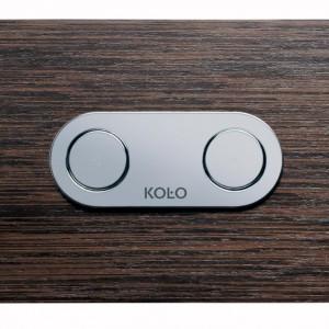W kategorii Akcesoria łazienkowe Nagrodę Główną zdobył przycisk do stelaża Cameleon firmy Sanitec Koło. Fot. Sanitec Koło.